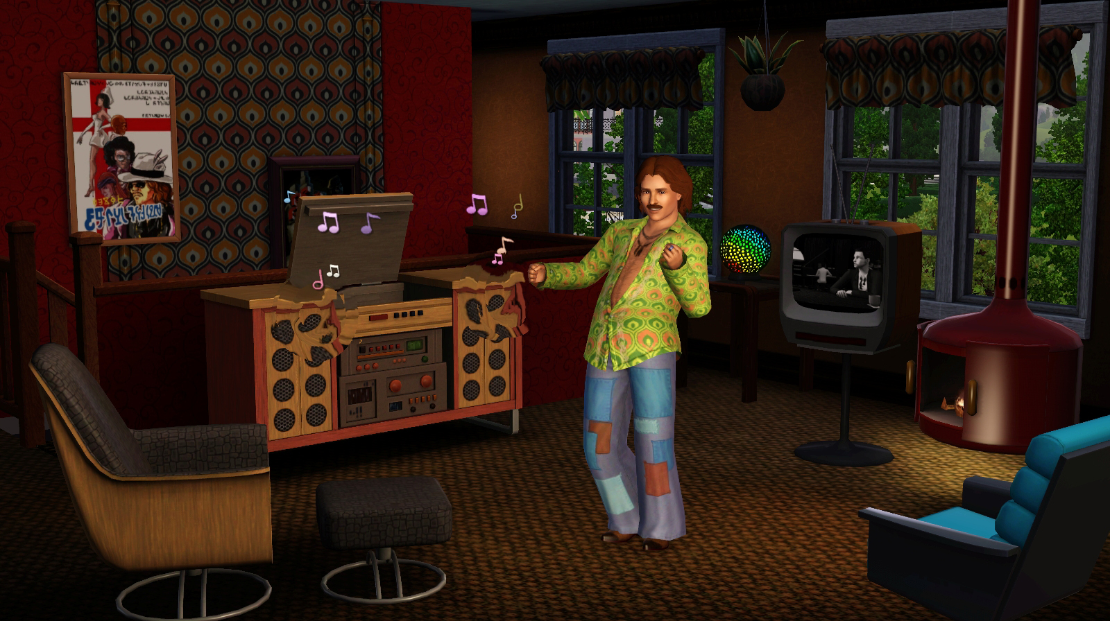 The Sims 3 70s 80s Amp 90s Stuff Pack Out Now Capsule