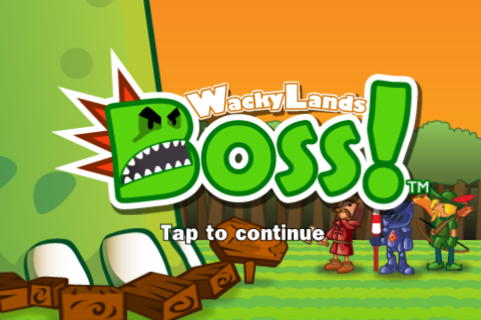 Names Games For Ipad Game Name Wackylands Boss