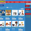 Sonic Merchandise Website Launched