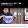 Madman December 2012 Releases