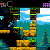 Shovel Knight receiving music from Mega Man Composer