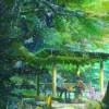 First 5 Minutes of Makoto Shinkai's 'Garden of Words' Streamed