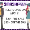 SMASH! Con 2013 Tickets Now On Sale