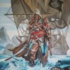 Assassin's Creed IV: Black Flag Canvas Painting Charity Auction Now Live