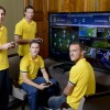 Socceroos Test Out the Playstation 4