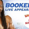 Meet WWE Superstar Booker T at Luna Park Sydney