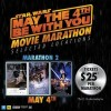 Events Cinemas Celebrating Star Wars Day with Movie Marathon