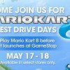 Mario Kart 8 Goes for a Test Drive at Select GameStop Locations this May