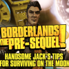 Handsome Jack gives us some tips for surviving in Borderlands: The Pre-Sequel