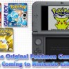 Pokemon Red, Blue, and Yellow Headed to the 3DS Virtual Console in February