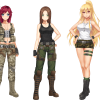 Army Gals' Continued Kickstarter Success Leads to Battle Girls 2140 Addition