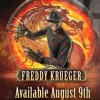 Freddy Krueger Set to join the Mortal Kombat Roster on August 9th!