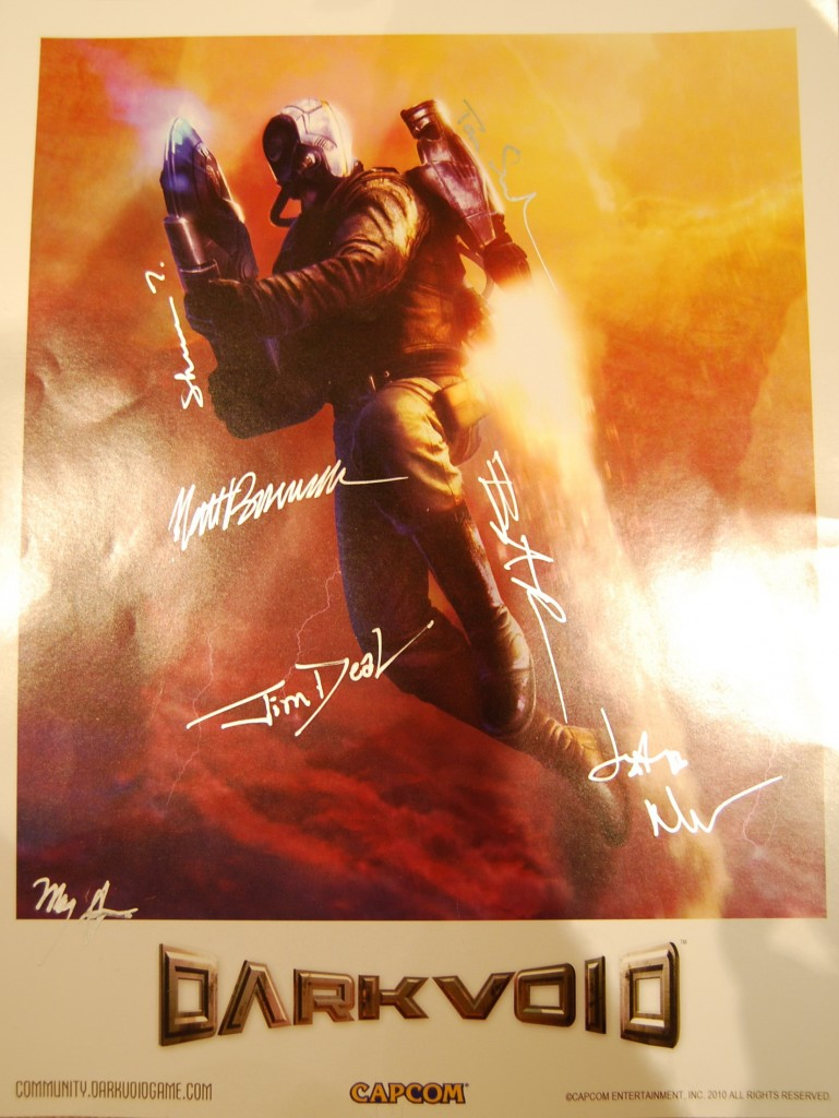 Dark Void - Signed Poster-01
