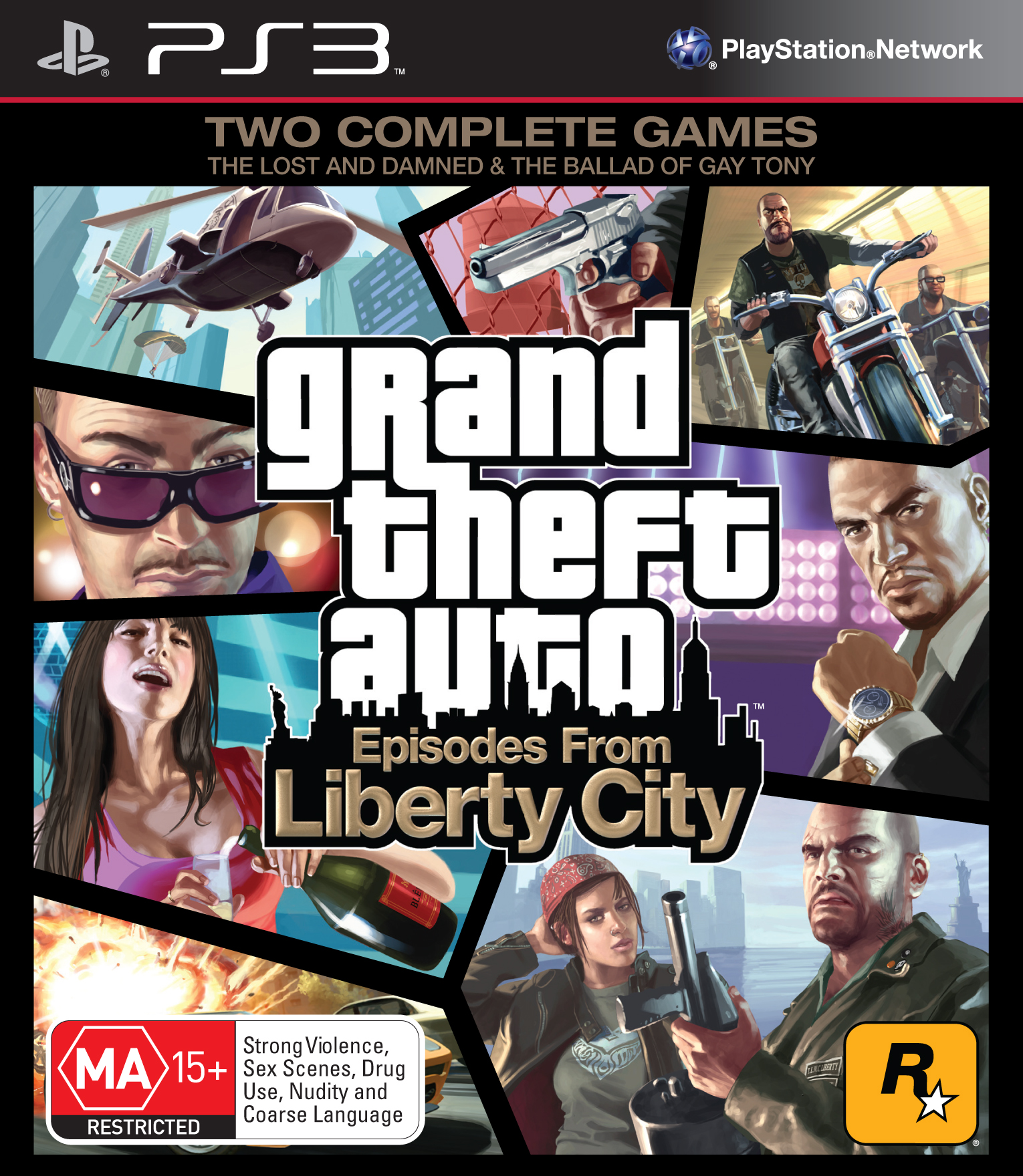 All Games For Ps3 : Grand theft auto episodes from liberty city coming to