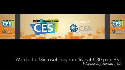 MicrosoftAtCES-2010LiveFeed