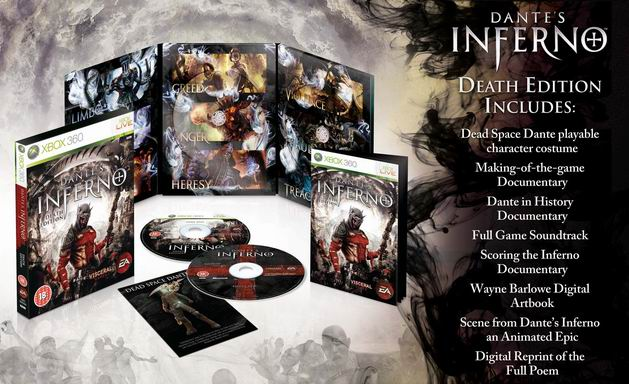 Dante's inferno death edition (ps3): amazon. Co. Uk: pc & video games.