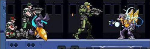 Mega Man Rocks, Halo Zero and Metroid Prime 2D Retro Style PC GAMES For FREE Download