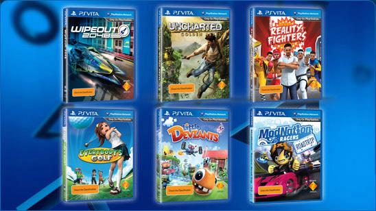 В продаже новые и б.у. игры для PSVita