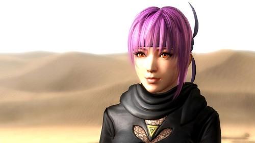 A glimpse at character customization and Ayane in Ninja Gaiden 3 screenshots