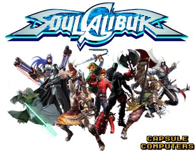Soul Calibur Guest Characters Timeline Capsule Computers