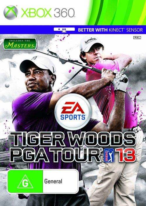 Tiger Woods PGA TOUR 13 Cover Art