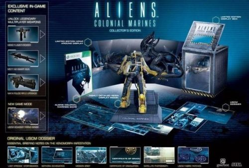 Could this be the Aliens: Colonial Marines special edition?