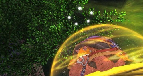 A Wise Tortoise will be your guide in Dragon Quest X