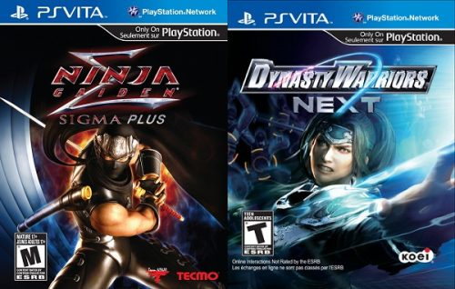 Tecmo Koei takes the Vita by storm with the launch of Dynasty Warriors NEXT and Ninja Gaiden Sigma Plus