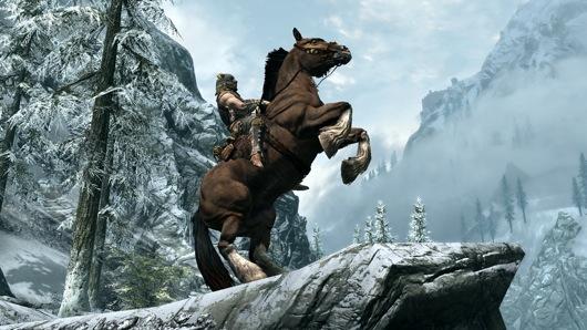 skyrim-horse