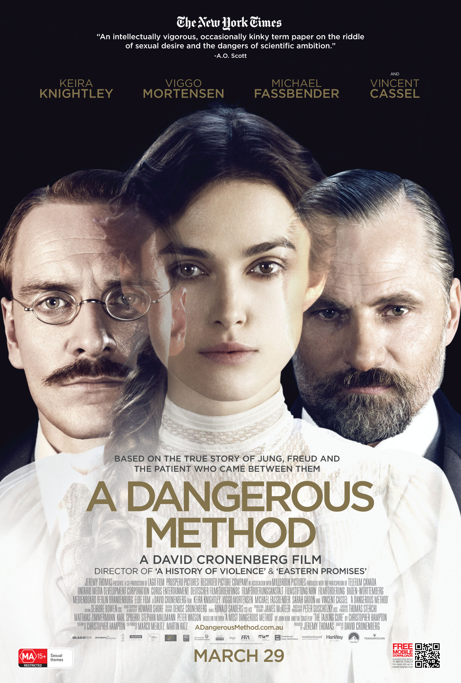 New Clips from A Dangerous Method – Capsule Computers A Dangerous Method Freud