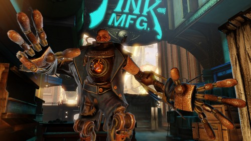 Bioshock Infinite calls in Handyman in second part of Heavy Hitters video series