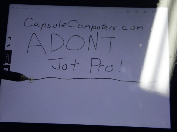 how to use a jot pro