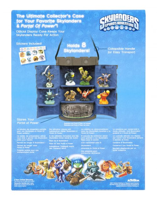 Skylanders Tower Case back in stock!