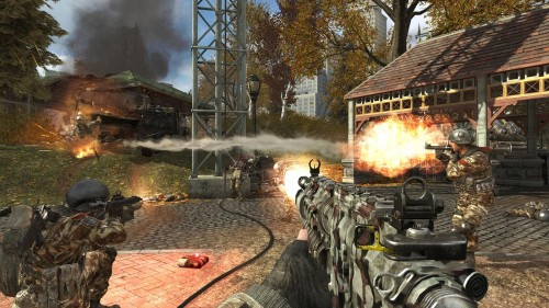 Liberation and Piazza land Call of Duty: Modern Warfare 3 for the PSN