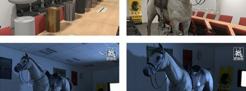Kojima Productions shows off Fox Engine with horse pictures