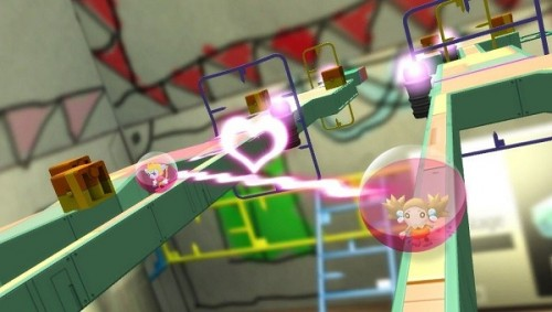 Super Monkey Ball on PS Vita allows level creation from pictures