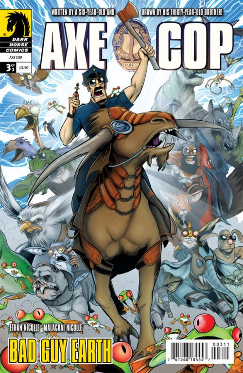Axe Cop Gets Animated Series