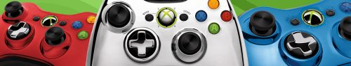 Xbox 360 Chrome Series Controllers