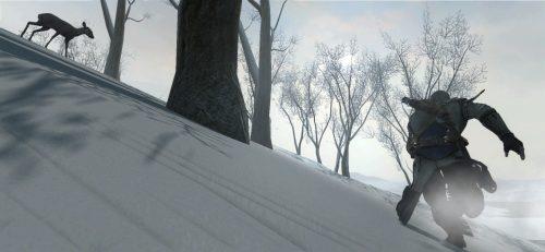 New Assassin's Creed 3 screenshots show off wondrous winter environments