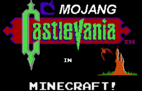 Castlevania meets Minecraft in an awesome mash-up