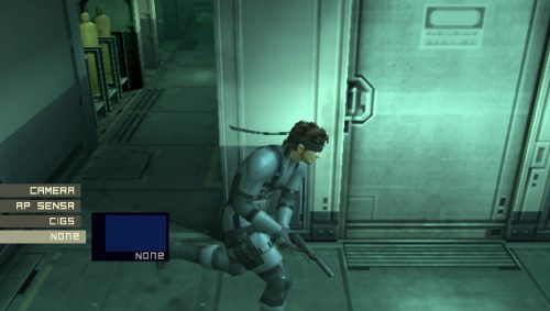 New screenshots released for the PlayStation Vita version of Metal Gear Solid HD Collection