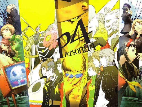 Persona 4 The Animation Wallpaper Persona 4 The Animation