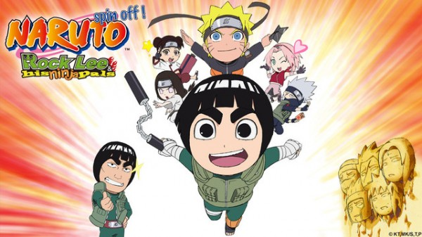 naruto spin off rock lee and his ninja pals ending relationship