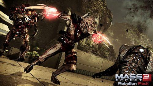 Free Mass Effect 3 Rebellion DLC Pack