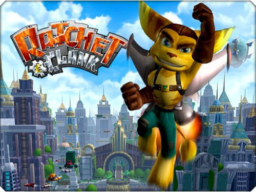 Ratchet and Clank QForce. they're baaaack.