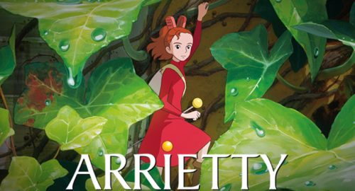 Arrietty out on DVD and Blu-Ray May 23rd