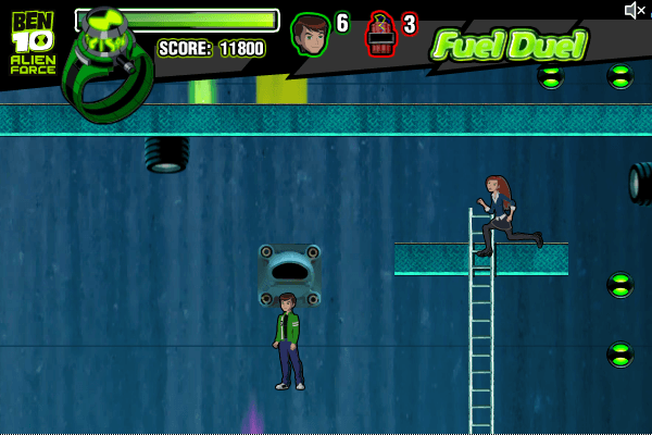 ben 10: alien force the game