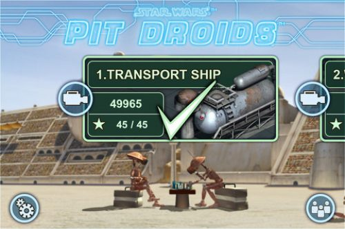 Star Wars Pit Droids for iOS Free for Today