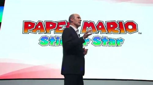 E3 2012: Paper Mario – Sticker Star announced by Nintendo