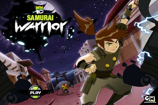 free online games of ben 10 samurai warrior